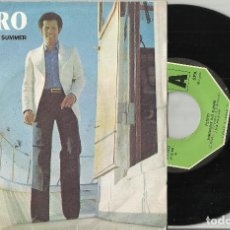 Discos de vinilo: PEDRO SINGLE SOMEWHERE THIS SUMMER PORTUGAL 1977. Lote 101498063