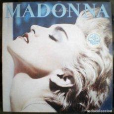 Discos de vinilo: MADONNA – TRUE BLUE LP 1986 CON ENCARTE. Lote 101513327