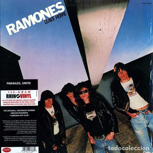 LP RAMONES LEAVE HOME VINILO 180G FROM THE ANALOG MASTERS (Música - Discos - LP Vinilo - Punk - Hard Core)