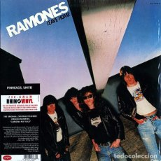 Discos de vinilo: LP RAMONES LEAVE HOME VINILO 180G FROM THE ANALOG MASTERS. Lote 101531595