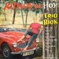 Discos de vinilo: TRIO BIOK - RITMOS DE HOY, EP, ADAN Y EVA + 7, AÑO 1961. Lote 101532431