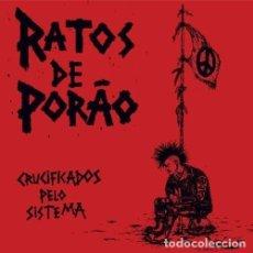 Discos de vinilo: LP RATOS DE PORAO CRUCIFIKADOS PELO SISTEMA VINILO HARDCORE PUNK. Lote 101535315