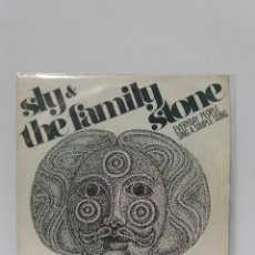 Discos de vinilo: SINGLE ** SLY & THE FAMILY STONE *EVERYDAY PEOPLE *COVER/ EXCELLENT(EX)**SINGLE/ EXCELLENT (EX)1968. Lote 101545275