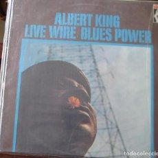 Discos de vinilo: ALBERT KING - LIVE WIRE / BLUES POWER- EN PERFECTO ESTADO.. Lote 101553691
