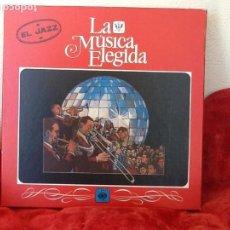 Discos de vinilo: LA MUSICA ELEGIDA. EL JAZZ. CON LIBRO Y 4 DISCOS ENVIO CERTIFICADO. INCLUIDO.. Lote 101554315