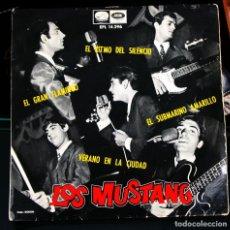 Discos de vinilo: EP LOS MUSTANG EL RITMO DEL SILENCIO. Lote 101554831