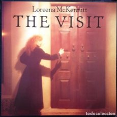 Discos de vinilo: LP -THE VISIT- LOREENA MC KENNITT - ORIGINAL 1991 - FUSIÓN, JAZZ, CELTIC FOLK,. Lote 101556443