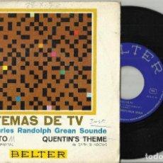 Discos de vinilo: CHARLES RANDOLPH GREAN SOUNDE SINGLE MANOLITO - QUENTIN'S THEME ESPAÑA 1970. Lote 101560707