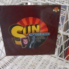 Discos de vinilo: VARIOUS– SUN: THE ROOTS OF ROCK: VOLUME 8:SUN ROCKS.LP EDICION UK 1977.SELLO CHARLY.BURGUESS/RILEY... Lote 101565395