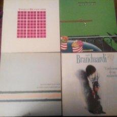 Discos de vinilo: ANGELO BRANDUARDI. 4 LPS. Lote 101567860