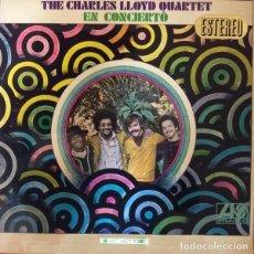 Discos de vinilo: RARO LP THE CHARLES LLOYD QUARTET EN CONCIERTO- ORIGINAL ANALÓGICO SPAIN 1968. Lote 101569855