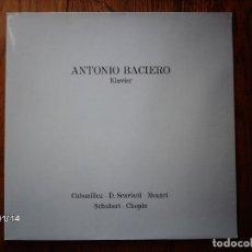 Discos de vinilo: ANTONIO BACIERO - KLAVIER . Lote 101571595