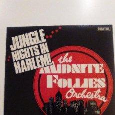 Discos de vinilo: THE MIDNITE FOLLIES ORCHESTRA JUNGLE NIGHTS IN HARLEM ( 1981 SONY DIGITAL UK ) EXCELENTE ESTADO. Lote 101582515