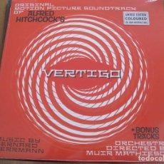 Discos de vinilo: BERNARD HERRMANN - ALFRED HITCHCOCK'S VERTIGO (1958) - LP REEDICIÓN VINYL PASSION 2017 NUEVO. Lote 101597199