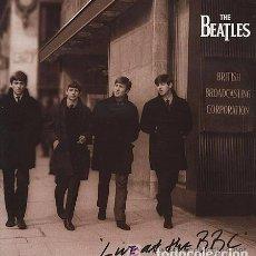 Discos de vinilo: THE BEATLES - LIVE AT THE BBC - MONO - CAPITOL / APPLE - 1994 - 2 LPS SIN ESTRENAR . Lote 101599267