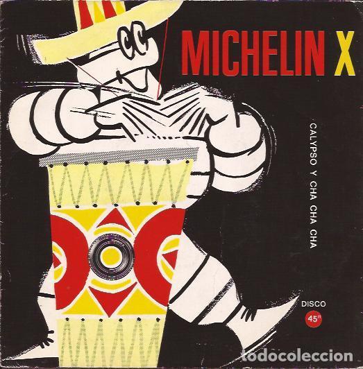SINGLE- FLEXIDISCO MICHELIN X GASOLINA CHA CHA CHA CALYPSO DE ANTONIO (Música - Discos - Singles Vinilo - Orquestas)