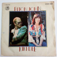 Discos de vinilo: ELTON JOHN & KIKI DEE. DON'T GO BREAKING MY HEARTH Y SNOW QUEEN 1976 SINGLE 2 CANCIONES. Lote 101610483