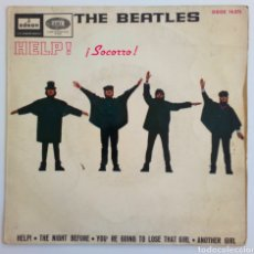 Discos de vinilo: THE BEATLES. HELP 1965 ODEÓN. THE NIGHT BEFORE 45 R.. Lote 101611880