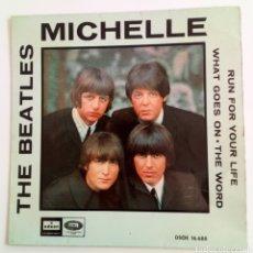 Discos de vinilo: THE BEATLES. MICHELLE. 1966. SPAIN. Lote 101612212