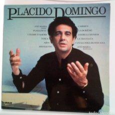 Discos de vinilo: PLÁCIDO DOMINGO 1982 LP. AVE MARÍA, CARMEN, LA BOHEME, LA TRAVIATA, AIDA. DE LA CAJA DE BARCELONA. Lote 101613199