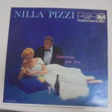 Discos de vinilo: LP. NILLA PIZZI. QUIEREME POR HOY. 1958. RCA ESPAÑOLA. Lote 101616847