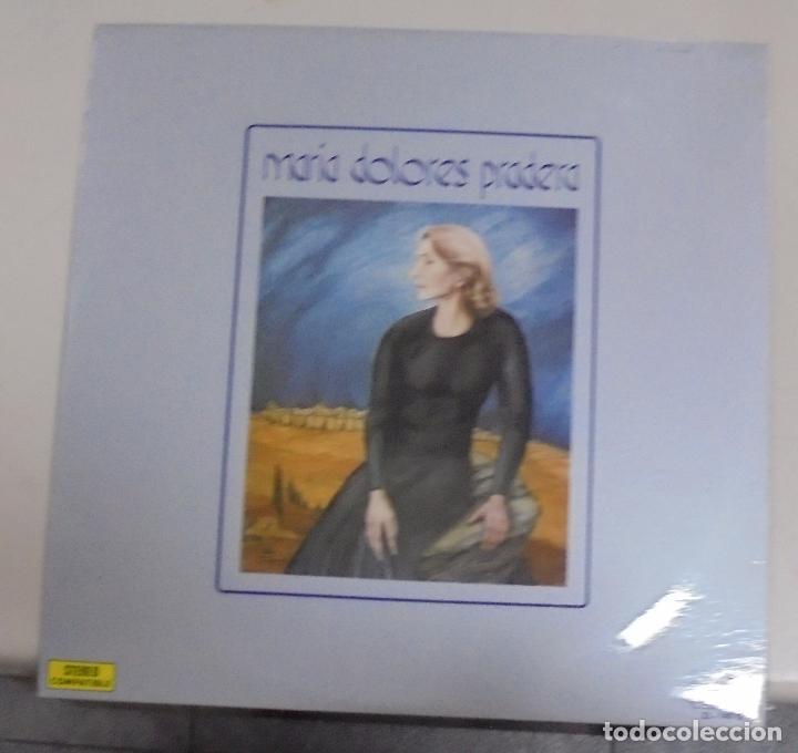 LP. MARIA DOLORES PRADERA ACOMPAÑADA POR LOS GEMELOS. ZAFIRO. 1972 (Música - Discos - LP Vinilo - Cantautores Españoles)