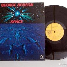 Discos de vinilo: GEORGE BENSON - SPACE - LP CTI S60801 ESPAÑA 1982 EX/VG+. Lote 101619011