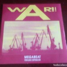 Discos de vinilo: MEGABEAT - WAR - MAXI SINGLE.12 - MUY BUEN ESTADO . Lote 101637003