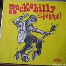 Discos de vinilo: ROCKABILLY SHAKEOUT - NUMBER 1- EN PERFECTO ESTADO.. Lote 101637923