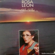 Discos de vinilo: LP ROSA LEÓN. Lote 101642055