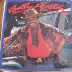 Discos de vinilo: BILLY PRESTON - THE WAY I AM - LP MOTOWN UK 1981. Lote 101669803
