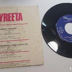 Discos de vinilo: VINILO SINGLE 7 45 RPM SYREETA , AMOR Y ARMONIA. Lote 101675247