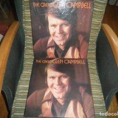 Discos de vinilo: THE GREAT GLEN CAMPBELL BOX SET 7LP´S + 7 CASSETTES - ORIGINAL INGLES . EMI RECORDS 1969 STEREO -. Lote 101676431