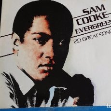 Discos de vinilo: LP SAM COOKE: EVREGREEN 20 GREATS SONGS ( EDIC. HOLLAND 1981). Lote 101682047