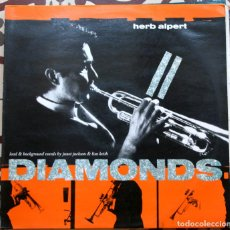 Discos de vinilo: HERB ALPERT LEAD & BACKGROUND VOCALS BY JANET JACSON & LISA KEITH ( DIAMONDS 3 VERSIONES ) 1987. Lote 101682739