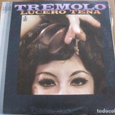 Discos de vinilo: LUCERO TENA - TRÉMOLO (1968) - LP HISPAVOX 1987. Lote 101708543