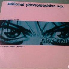 Discos de vinilo: ALEX MARTIN - NATIONAL PHONOGRAPHICS EP ESPAÑA 1996. Lote 101710954