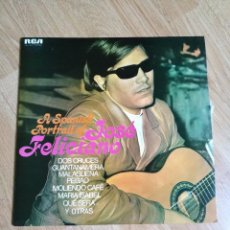 Discos de vinilo: JOSE FELICIANO - A SPANISH PORTRAIT DOBLE LP RCA 1973 ED. ESPAÑOLA. Lote 101713275