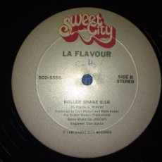Discos de vinilo: LA FLAVOUR - TO THE BOYS IN THE BAND / ROLLER SHAKE. EDICION USA. Lote 101717143