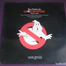 Discos de vinilo: GHOSTBUSTERS MAXI ARISTA 1984 - RAY PARKER JR. - 3 VERSIONS DEL TEMA - BSO OST - SYNTH POP . Lote 101718751