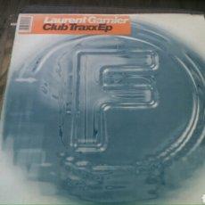 Discos de vinilo: LAURENT GARNIER - CLUB TRAXX EP 1995 FRANCIA DOBLE 2X12. Lote 101732672