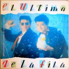 Discos de vinilo: EL ULTIMO DE LA FILA - NUEVO PEQUEÑO CATALOGO DE SERES Y ESTARES (1990) VINILO. Lote 101748527