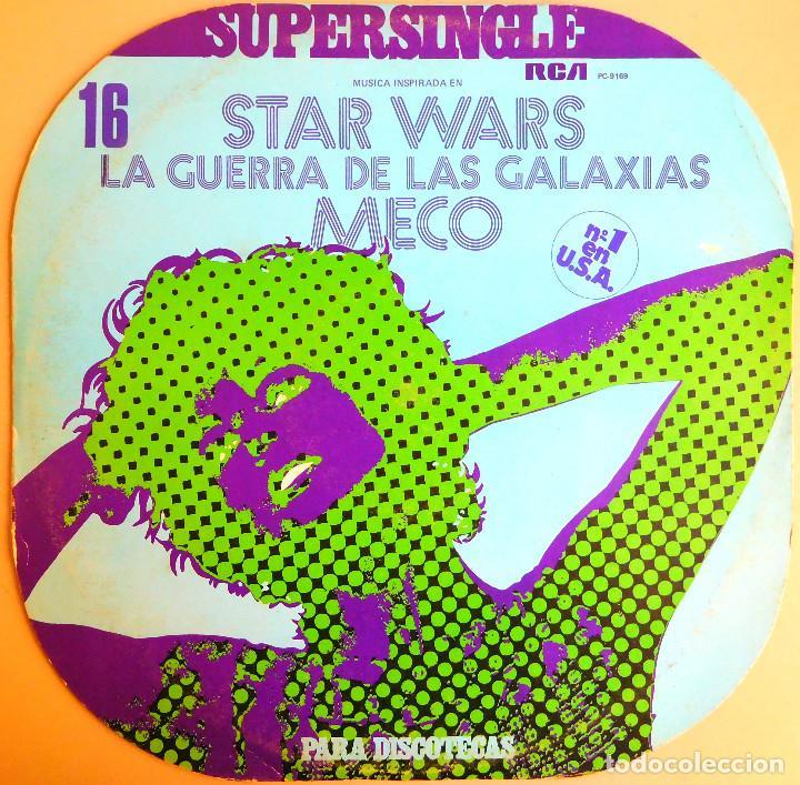 STAR WARS - SUPERSINGLE 45 RPM - VINILO - RCA (1977) (Música - Discos de Vinilo - Maxi Singles - Bandas Sonoras y Actores)