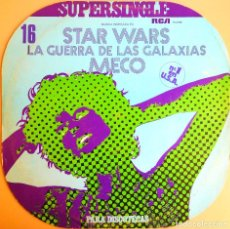 Discos de vinilo: STAR WARS - SUPERSINGLE 45 RPM - VINILO - RCA (1977). Lote 101750803