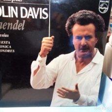 Discos de vinilo: HAENDEL EL MESÍAS SELECCIÓN DAVIS LP COMO NUEVO. Lote 101756811