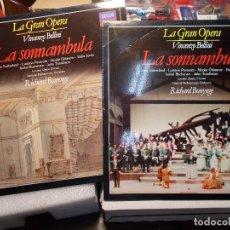 Discos de vinilo: BELLINI LA SONNÁMBULA COMPLETA BONYNGE 2 LP COMO NUEVOS. Lote 101757615