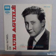 Discos de vinilo: ** LUIS AGUILE - VERDE, VERDE + 3 - EP AÑO 1964. Lote 101768423