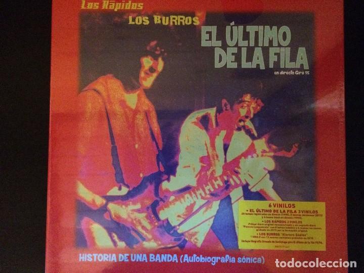EL ULTIMO DE LA FILA BOX LP 6 VINILOS_ BEATLES BOWIE (Música - Discos - LP Vinilo - Rock & Roll)