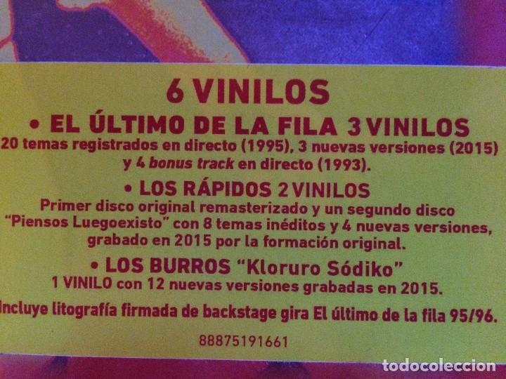 Discos de vinilo: EL ULTIMO DE LA FILA BOX LP 6 VINILOS_ beatles bowie - Foto 2 - 101773663