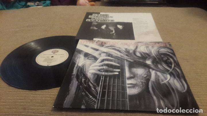 STEVE STEVENS LP. ATOMIC PLAYBOYS. MADE IN GERMANY 1989 (Música - Discos - LP Vinilo - Heavy - Metal)